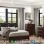 Furniture Jepara Tempat Tidur Jati Minimalis Natural Rose Wood Glossy MMJ-0560