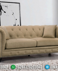 Great Sofa Tamu Chesterfield Minimalis Modern Furniture Jepara MMJ-0506
