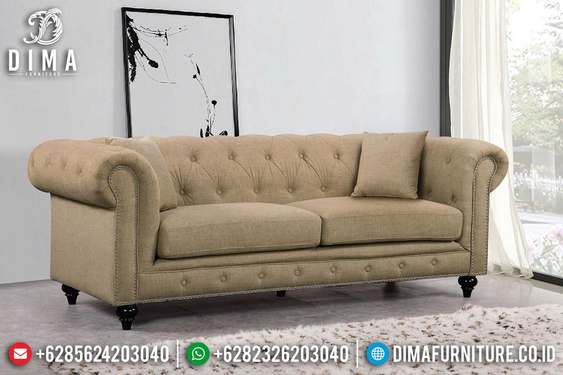 Great Sofa Tamu Chesterfield Minimalis Modern Furniture Jepara MMJ-0506