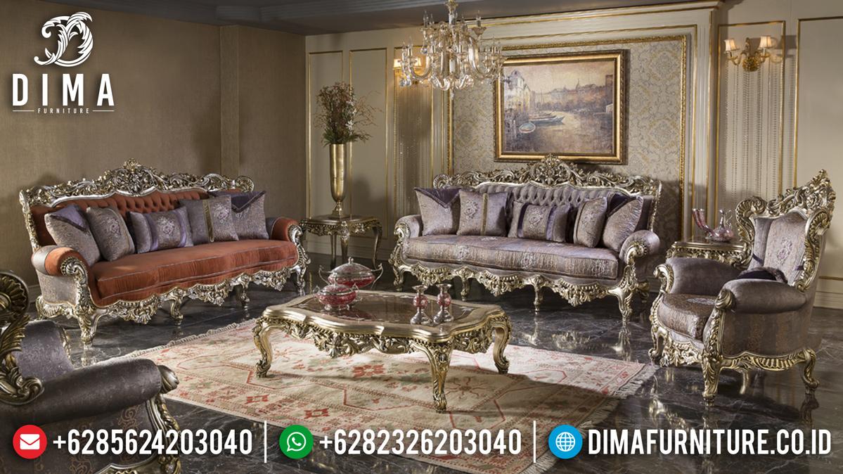 Harga Sofa Tamu Mewah Jepara Ukiran Barocco Classic Elegant MMJ-0484