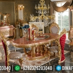Jual Meja Makan Ukiran Jepara Luxury Carving Furnishing MMJ-0512