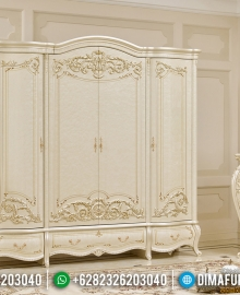 Lemari Pakaian Ukiran Classic Jepara Design Luxury Carving MMJ-0566