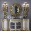 Living Room Furniture Meja Konsol Mewah Ukiran Jepara Luxury Classic MMJ-0583