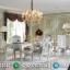 Meja Makan Mewah Atlantis Ukiran Classic Jepara Interior Design Luxury MMJ-0532