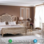 New Kamar Set Mewah Venezia Desain Elegant Luxury Jepara White Duco Color MMJ-0558