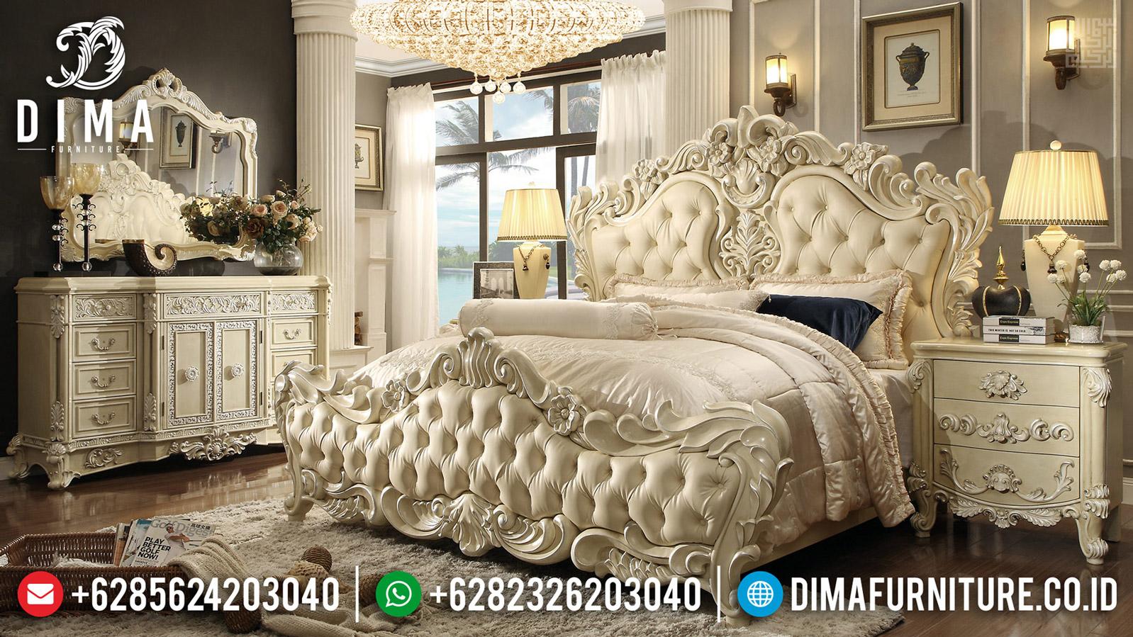 Room Vanity Set Kamar Mewah Jepara Luxury Classic Ukiran Artistik MMJ-0569
