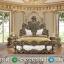 Set Kamar Tidur Mewah Ukiran Baroque Furniture Jepara Terbaru MMJ-0490