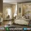 Set Tempat Tidur Mewah Da Vinci Luxury Italian Carving Jepara MMJ-0567
