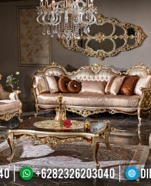 Sofa Tamu Mewah Best Quality Golden Prodo Furniture Jepara MMJ-0483