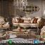 Sofa Tamu Mewah Best Quality Golden Prodo Furniture Jepara MMJ-0483
