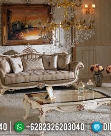 Sofa Tamu Mewah Geraldine Ukiran Classic Jepara Luxury Design MMJ-0539
