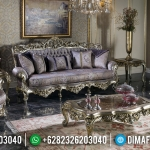 Big Discount Sofa Tamu Mewah Silver Wine Furniture Jepara Terbaru MMJ-0598