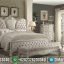 Desain Kamar Set Mewah Ukiran Luxury Classic Jepara White Ivory Combine MMJ-0656