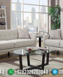 Desain Ruang Tamu Minimalis Sofa Tamu Modern New Retro French Style MMJ-0630