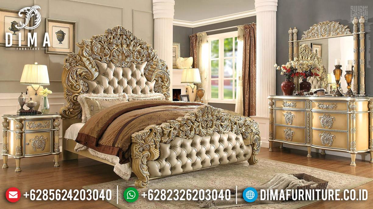 Donatella Version Tempat Tidur Mewah Luxury Carving New Design Royals Classic MMJ-0620