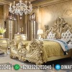 Get Sale Tempat Tidur Mewah Valyrian Golden Relief Motif Jepara MMJ-0626