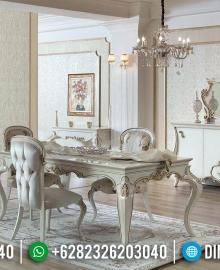 Harga Meja Makan Mewah Luxury Classic Ukiran Khas Jepara MMJ-0654