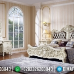 Interior Ideas Set Tempat Tidur Mewah Luxury Classic Golden Glass MMJ-0616