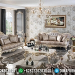 Interior Luxury Design Sofa Tamu Mewah Jepara New Realease MMJ-0592