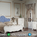 Kamar Set Mewah Luxury Carving White Duco Glossy Furniture Jepara MMJ-0606