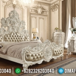 Kamar Set Mewah Ukiran 3D White Satin Duco Color Luxurian Type MMJ-0615
