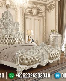 Kamar Set Mewah Ukiran 3D White Satin Duco Color Luxurian Type MMJ-0615