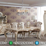 Meja Makan Mewah Versailles Ukiran Luxury Turkish Type Superior MMJ-0653