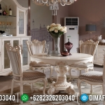 Set Meja Makan Mewah Ukiran Luxury Best Quality Produk MMJ-0631
