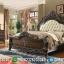 Tempat Tidur Jepara, Kamar Set Mewah Ukiran, Dipan Ranjang King Size Luxury MMJ-0607