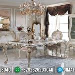 Big Deal Meja Makan Mewah Murah Desain Luxury Classic Furniture Jepara MMJ-0674