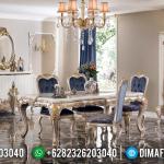 Desain Meja Makan Mewah Empire Luxury Carving Italian Royals Type MMJ-0668
