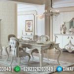 Jual Meja Makan Mewah Beatrix Classic Luxury Style Furniture Jepara Murah MMJ-0679
