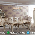 Meja Makan Mewah Jepara Donatella Version Luxury Carving Egypt Design MMJ-0672