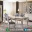 New Set Meja Makan Mewah 6 Kursi Ukiran Klasik Luxurian Jepara MMJ-0671