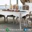 Set Meja Makan Mewah Luxury Carving Furniture Jepara Elegant Design MMJ-0664