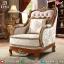 Absolute Sofa Tamu Mewah Single Seater Luxury Carving New 2020 Design MMJ-0813