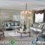 Arabian Desert Sofa Tamu Mewah Klasik Luxury Silver Luster Glossy Jepara MMJ-0731