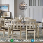 Best Seller Meja Makan Minimalis Klasik Vintage Retro New Season Furniture Jepara MMJ-0710