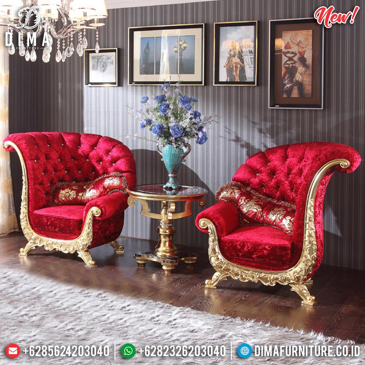 Desain Sofa Santai Mewah, Kursi Teras Ukiran Luxury Glamorous MMJ-0768