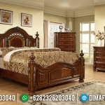 For Sale Tempat Tidur Klasik Jepara New Design Natural Luxury Carving MMJ-0690