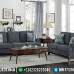 Furniture Jepara Sofa Tamu Minimalis Natural Jati Perhutani New French Vintage MMJ-0755