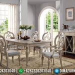Great Alexander Meja Makan Jati Minimalis Klasik Luxury Furniture Jepara MMJ-0708