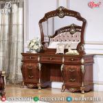 Harga Meja Rias Mewah Jati Ukiran Natural Luxury Classic Great Furniture MMJ-0826