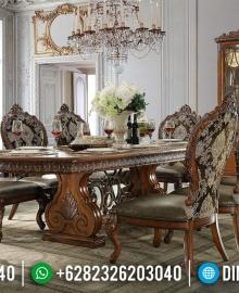 Harga Set Meja Makan Mewah Jepara Da Vinci Style Emperial Rome Artistik MMJ-0714