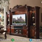 Jual Bufet TV Mewah Ukiran Jepara Luxury Classic Unique Type MMJ-0796