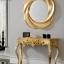 Jual Meja Konsul Mewah Golden Shining New Luxury Duco Color MMJ-0721