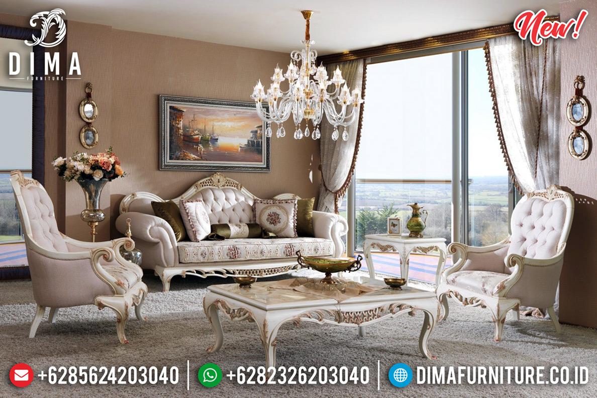 Jual Sofa Tamu Mewah Luxury Carving Furniture Jepara Klasik Terbaru MMJ-0730