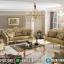 Koltuk Sofa Tamu Mewah Golden Leaf Luxury Carving Furniture Jepara MMJ-0695