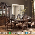 Meja Makan Klasik Palace New Furniture Jepara Luxury Carving Terbaru MMJ-0702