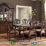 Meja Makan Klasik Palace New Furniture Jepara Luxury Carving Terbaru MMJ-0702
